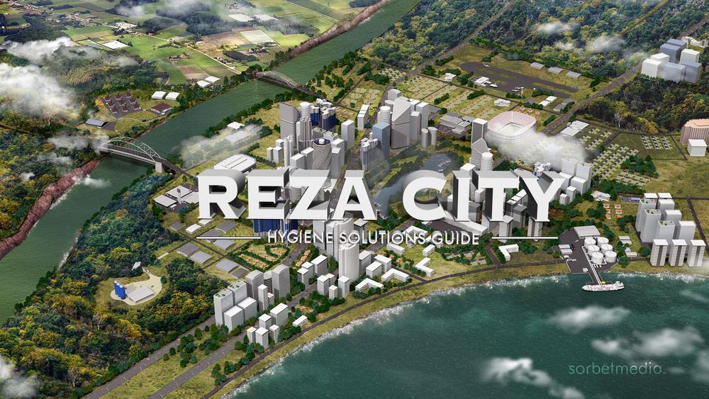 'Reza Hygiene' 3D City