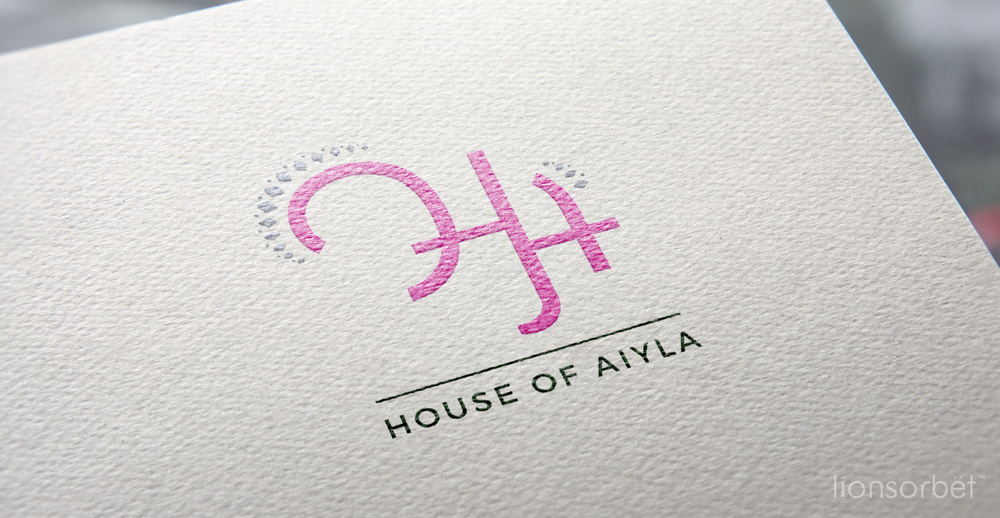 House of Aiyla - Logo for Indian Fashion brand for Children