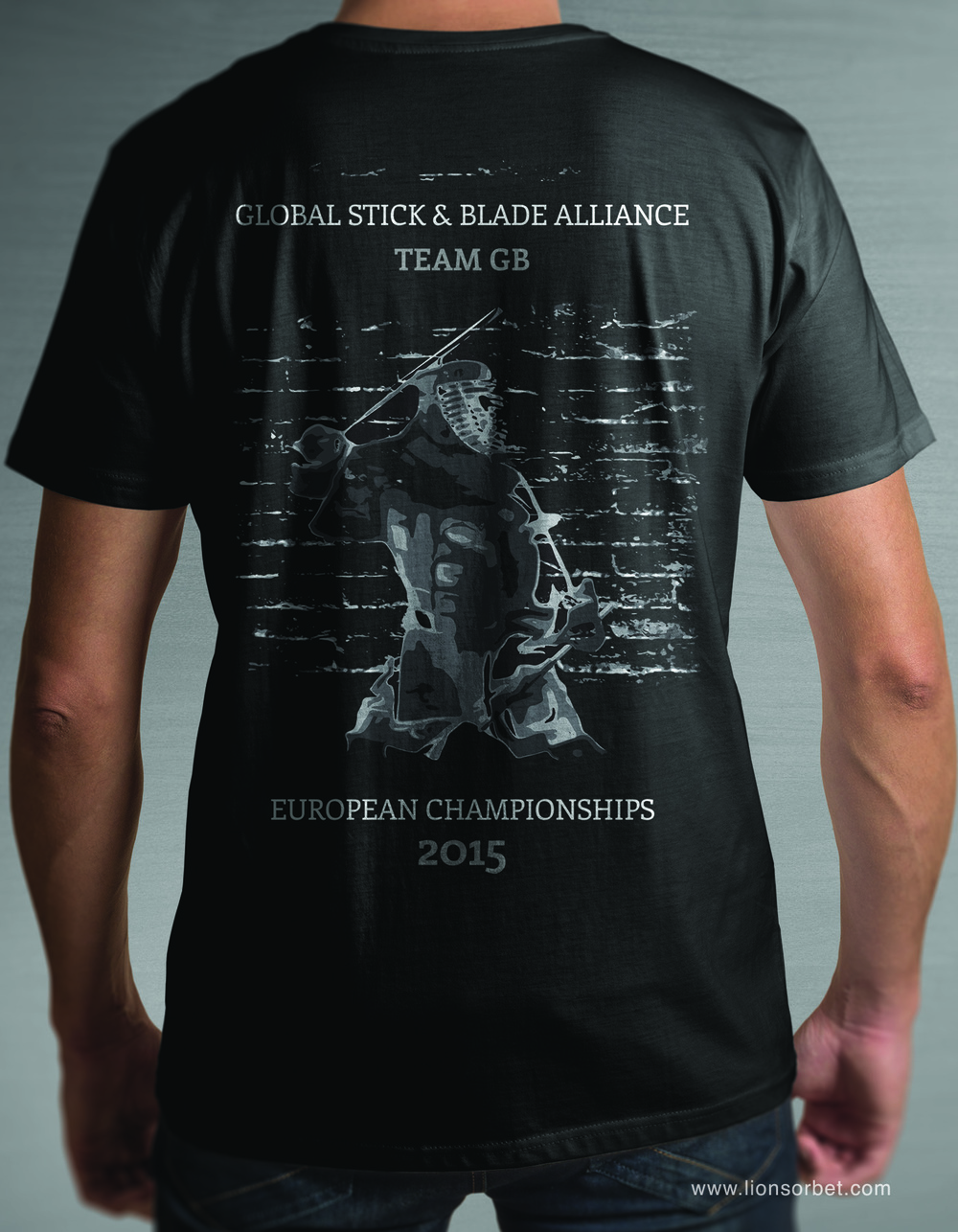 Squad Tee Design for the GSBA European Championships held in Great Britain 2015