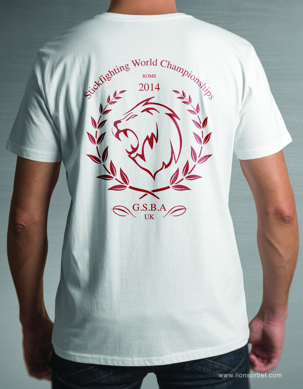 Squad Tee Design for the GSBA World Championships held in Rome 2014