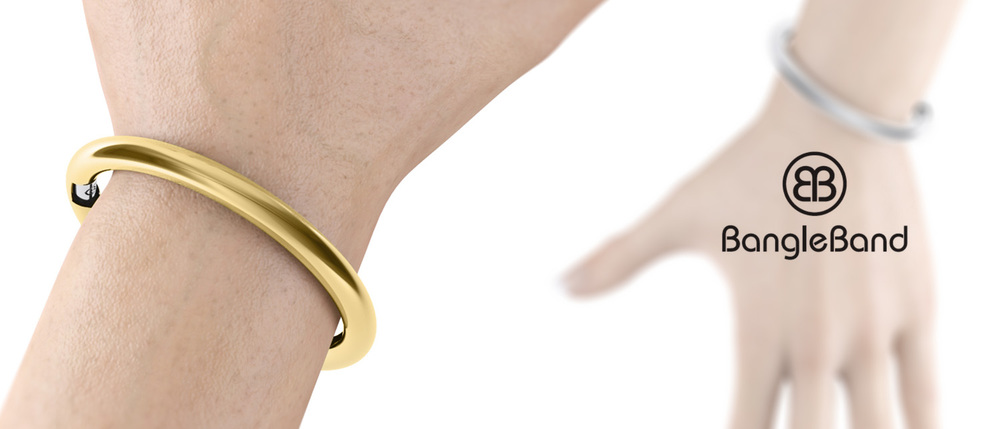 BANGLE_BAnd_on_wrist_view