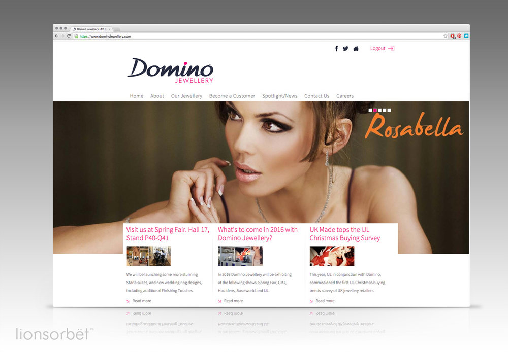 Website Design eCommerce LionSorbet Design Marketing for