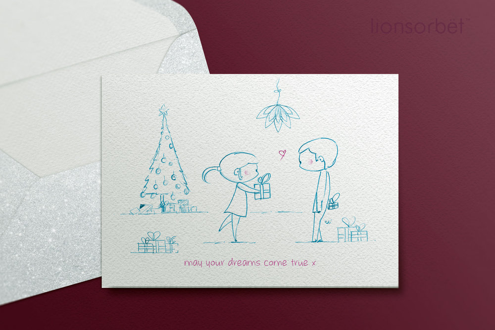 Christmas Card illustration — LionSorbet - Design & Marketing for ...