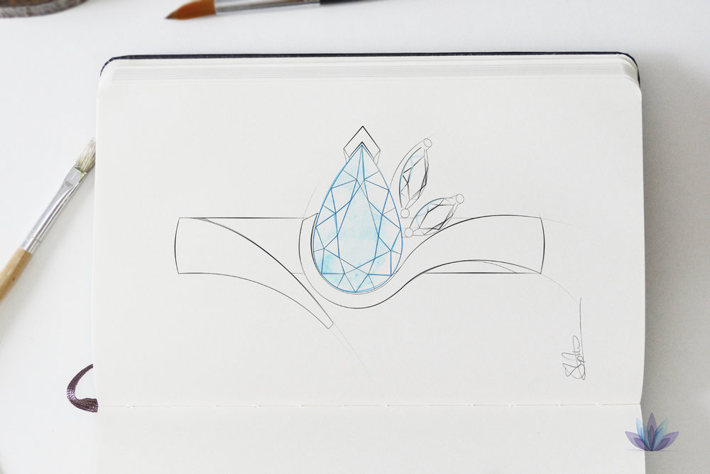 Jewellery Sketch design