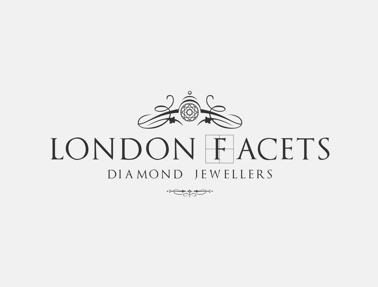 Branding lionsorbet design marketing for fashion jewellery london facets black transparentg voltagebd Choice Image