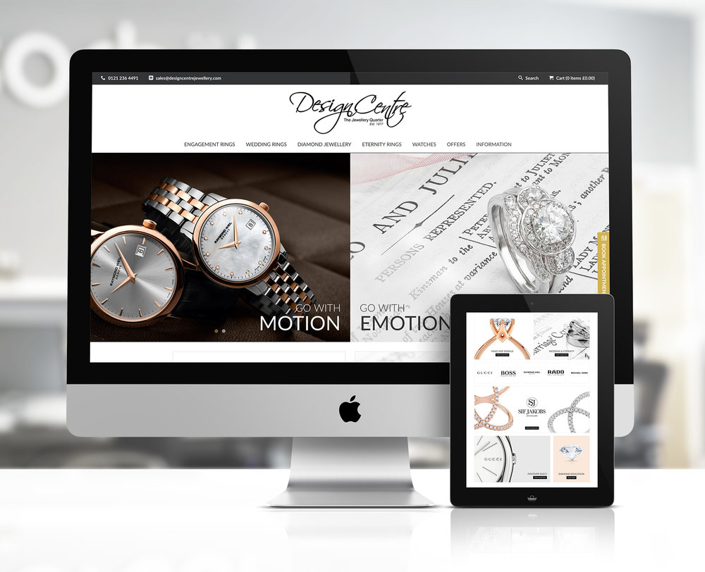 Diamond Palace Jewellers website design