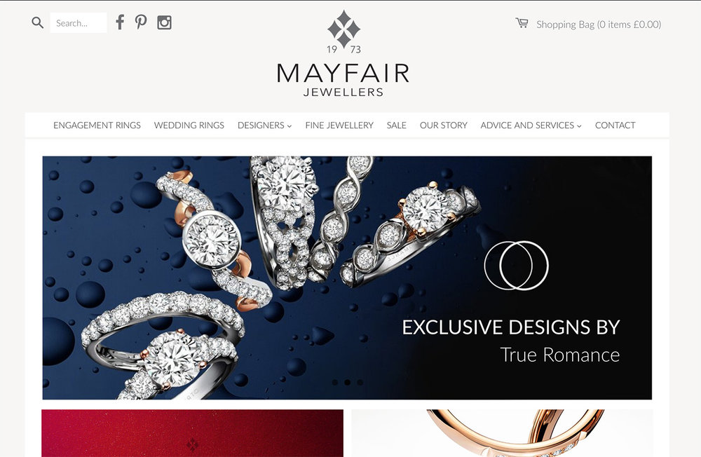 The Best Jewellery Website Designs 2017 top 20 LionSorbet