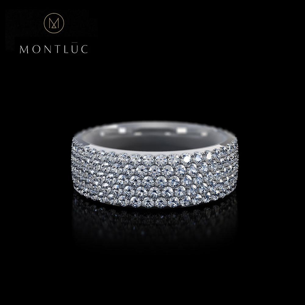 Montluc Jewellery - The Stargazer Pave Diamond Ring