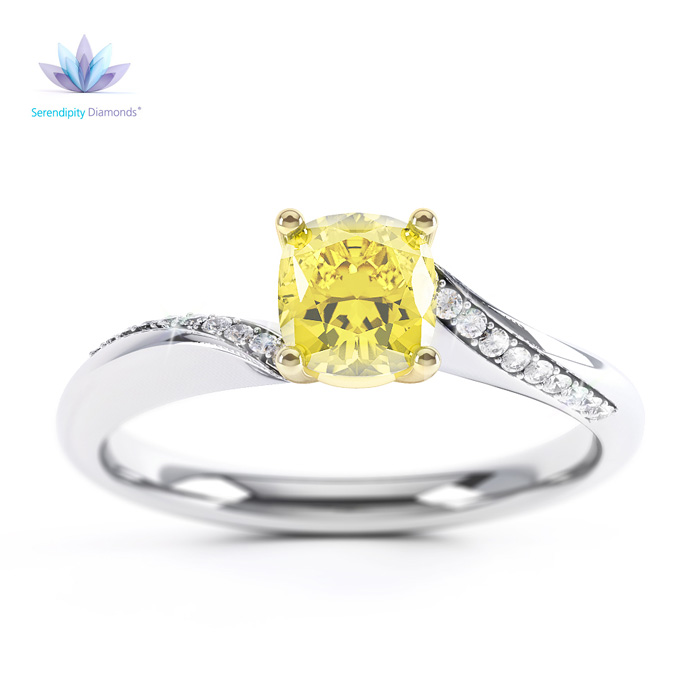 jewellery_CAD_fancy_yellow_solitaire