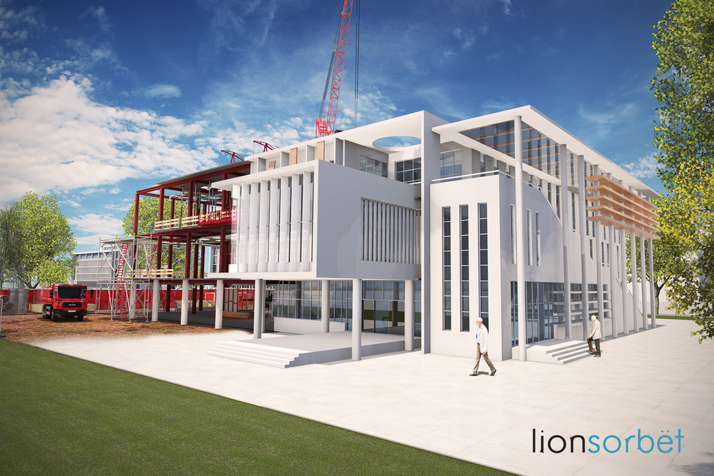 3D Exterior Building Visualisations / BIM Construction process  - Created for Agency 'Design Depot' as part of a project for BSI.