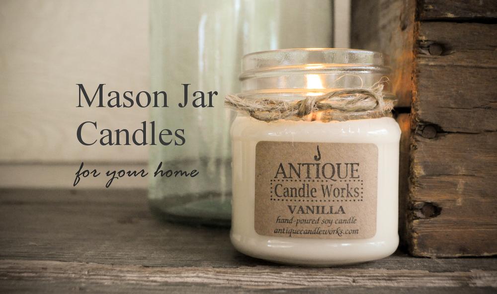 http://www.antiquecandleworks.com/rustic-jar-candles/