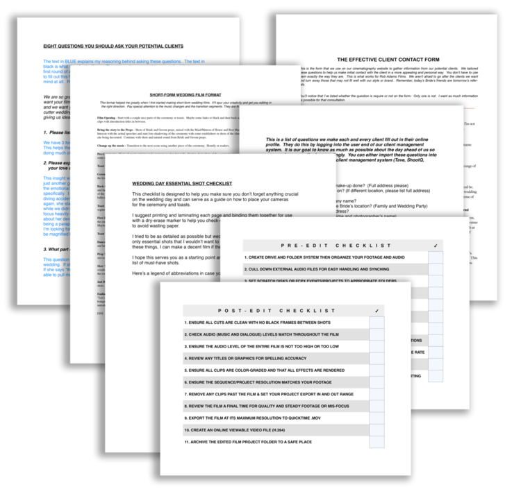 cinema business documents - Business Documents