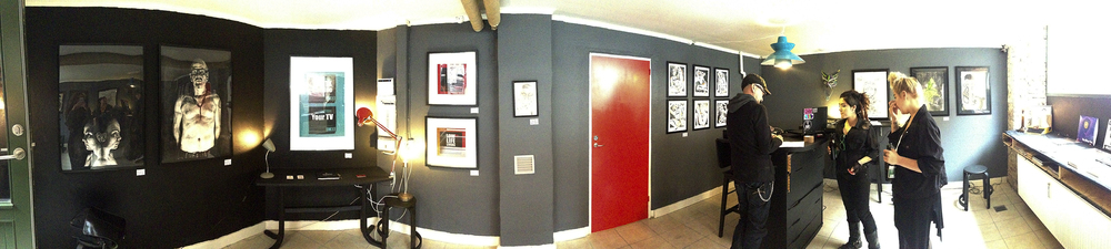 The Red Door Studio , ready for opening, Aug 2014                                       Photo by Andreea Vlad