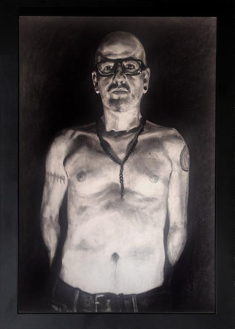 """Eskalante"" - drawing, pastel on paper, 2014"