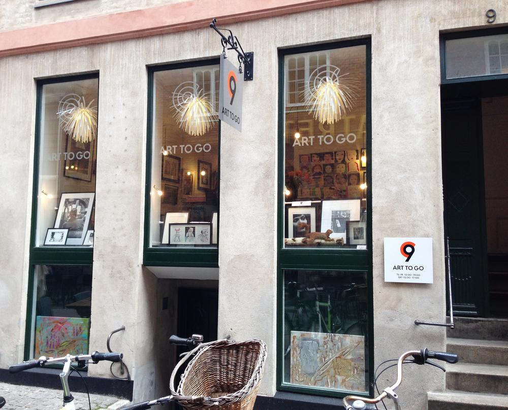 C9 ART TO GO Gallery, address: Mikkel Bryggers Gade 9 DK 1460 København K             Photo by Andreea Vlad