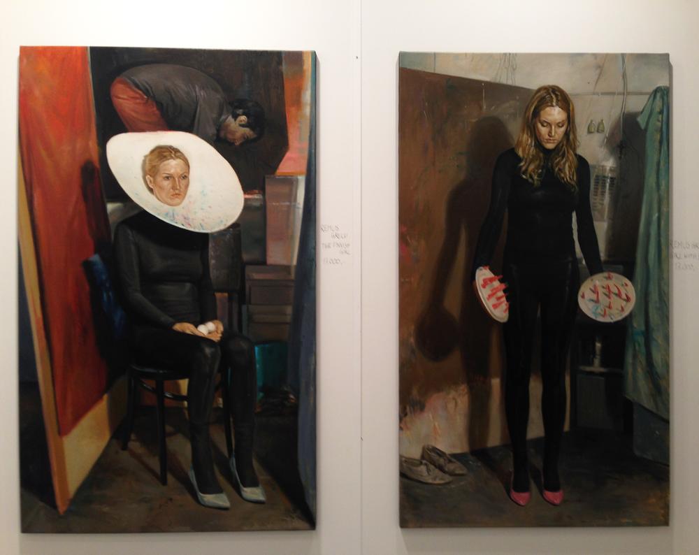 5.  Remus Grecu -  Hans Alf Gallery (UK)