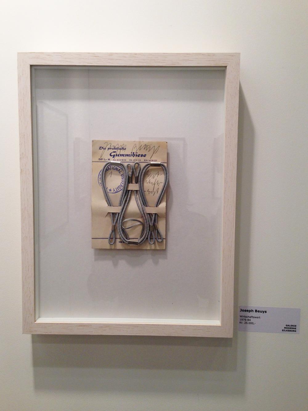 """15.  """"Wirtschaftswert"""" 1976 - 84, Joseph Beuys -  Galerie Moderne Silkeborg(DK)"""