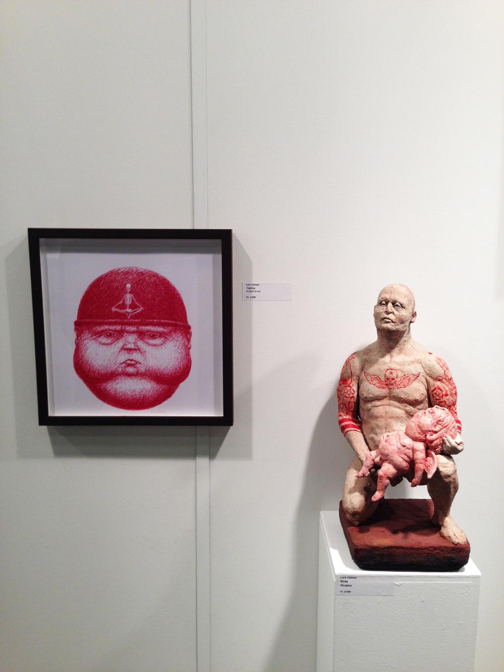 29.  Lars Calmar -  Galerie Wolfsen (GB)