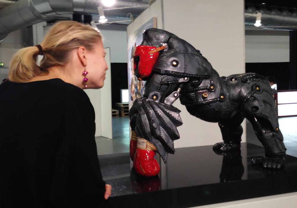 32.  Alan Waring -  Oxholm Gallery  (DK)