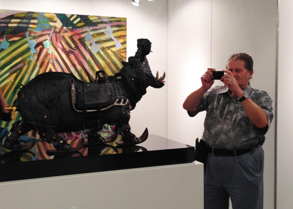 34.  Alan Waring -  Oxholm Gallery  (DK)