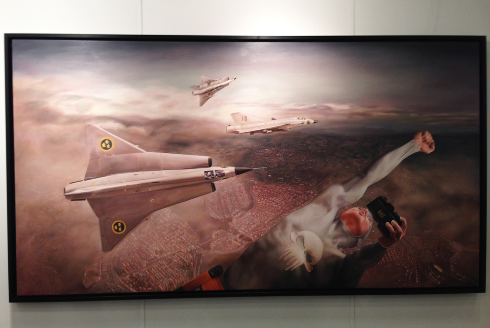 "35.  ""Planes"", Andreas Englund -  Oxholm Gallery  (DK)"