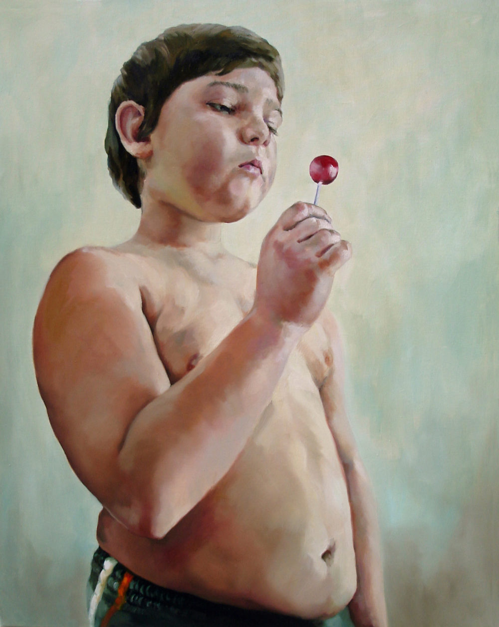 "38.   ""Infant Obesity (3)"", 2012, Anca Danila -  Nasui Collection & Gallery (RO)"