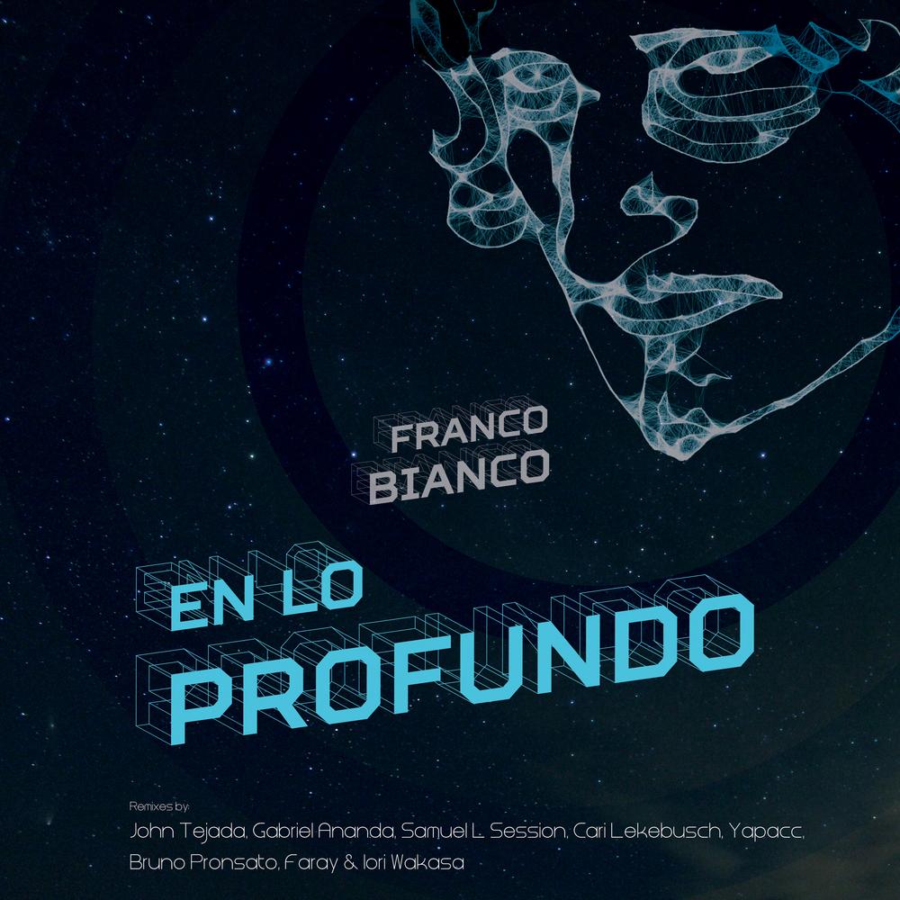 """""""EN LO PROFUNDO"""" Franco Bianco - Album cover                                      Artwork by Andreea Vlad"""