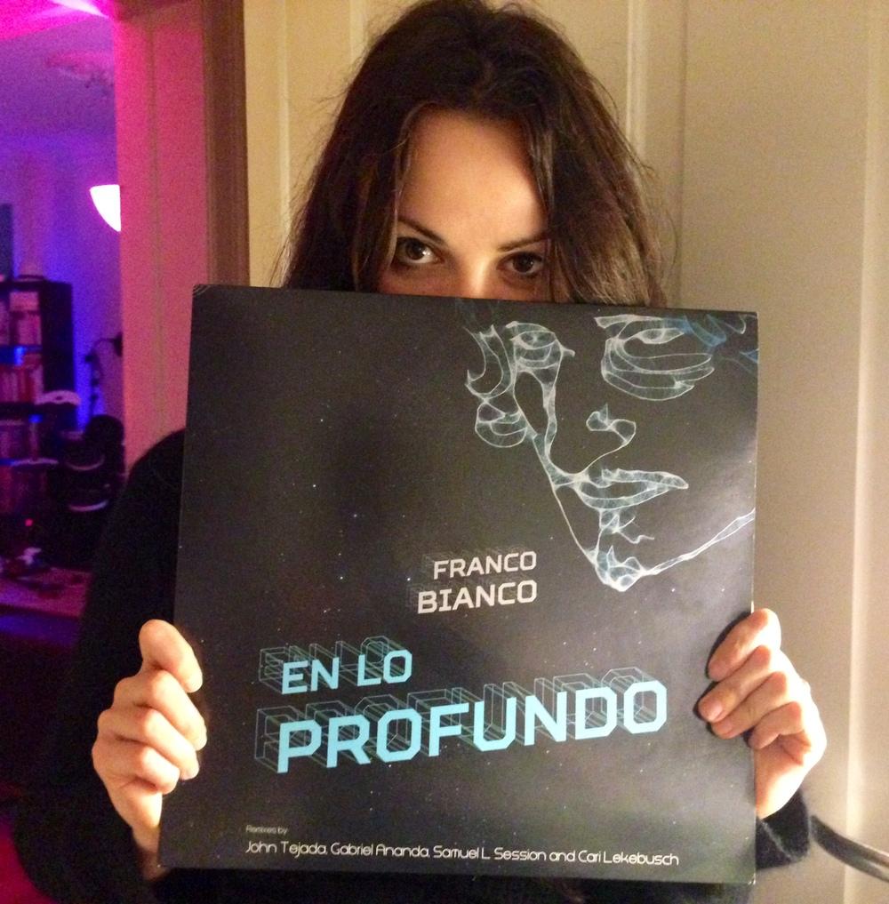 My very own copy of the album! Gracias, Franco!
