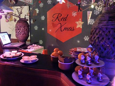 3. Red Xmas at Red Door - our bar