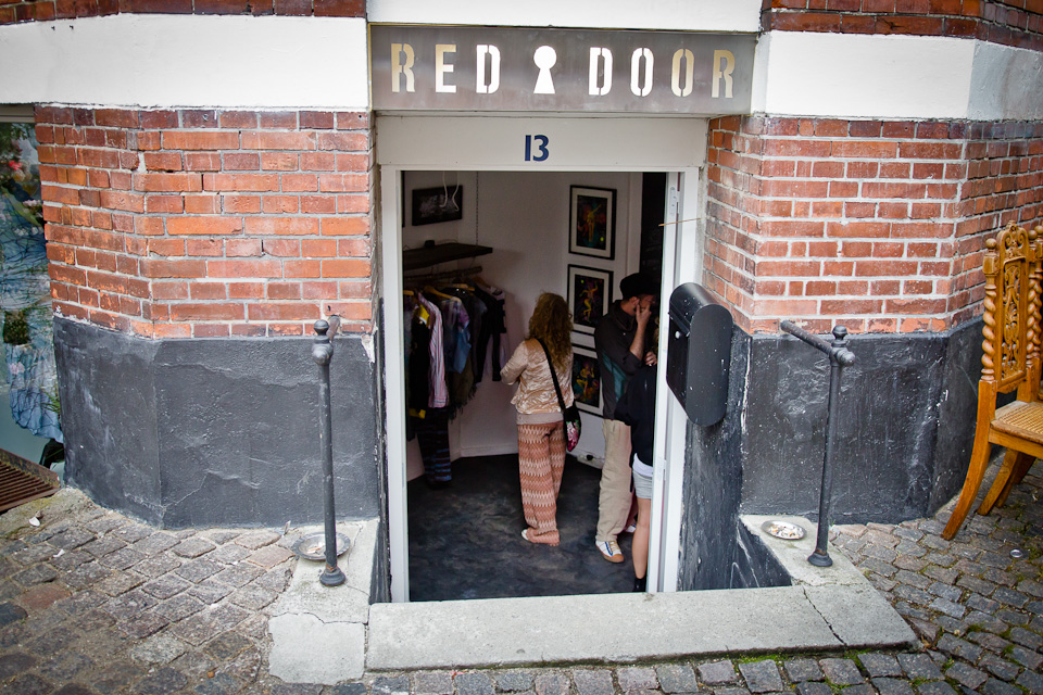 1. New Space Opening:  Red Door Gallery /Concept Shop/Cafe                                     Photo by  Yann Houlberg Andersen