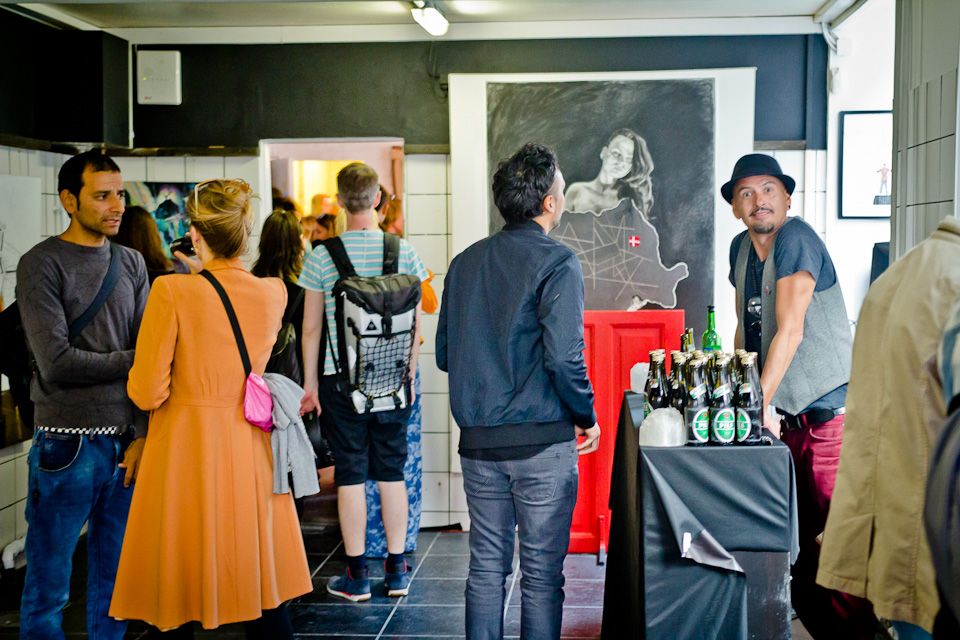12. New Space Opening:  Red Door Gallery /Concept Shop/Cafe                                   Photo by  Yann Houlberg Andersen