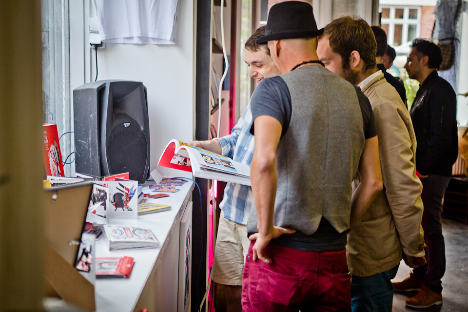 16. New Space Opening:  Red Door Gallery /Concept Shop/Cafe                                   Photo by  Yann Houlberg Andersen