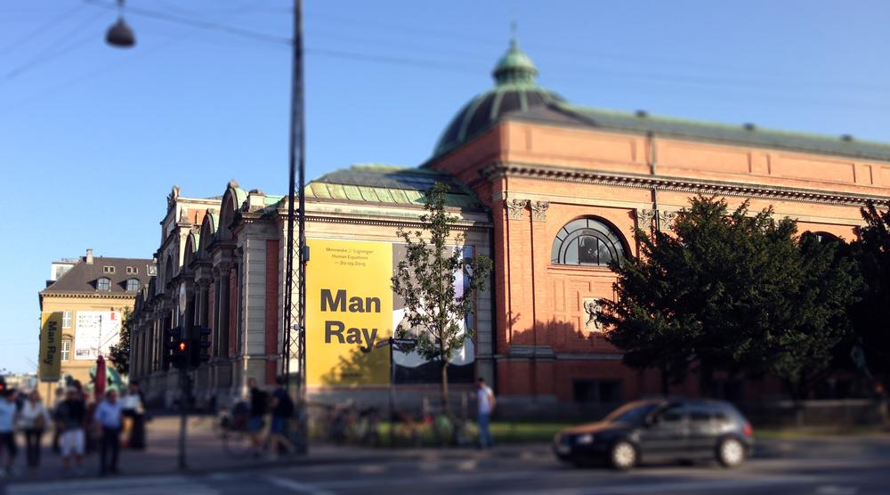 1. Glyptotek Museum, Man Ray Exhibition                           Photo by Andreea Vlad