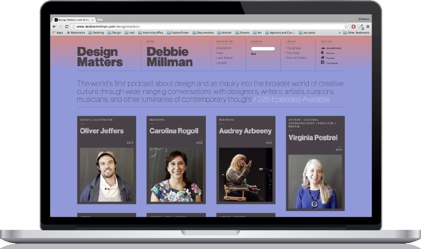 1. http://www.debbiemillman.com/designmatters/
