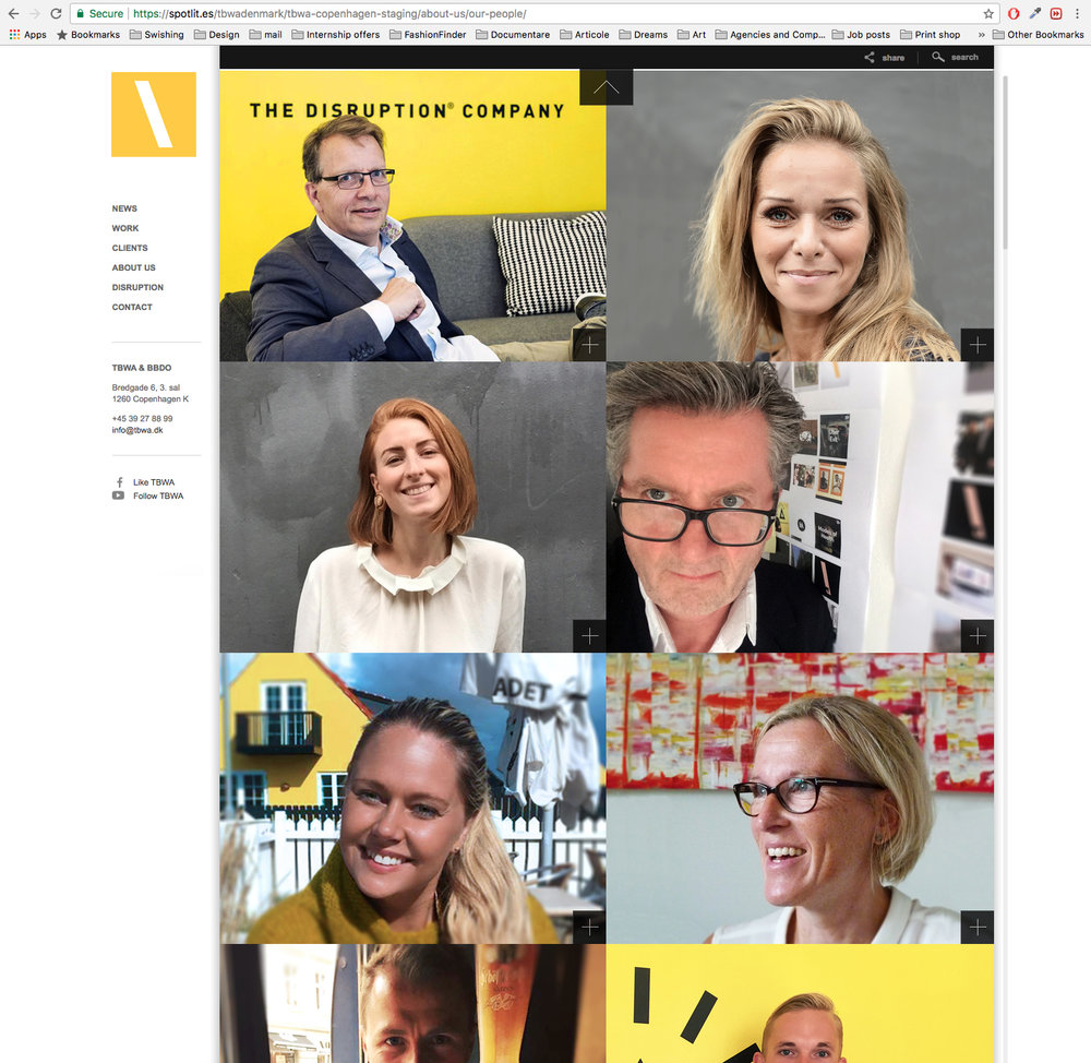 tbwa.dk - Our People page