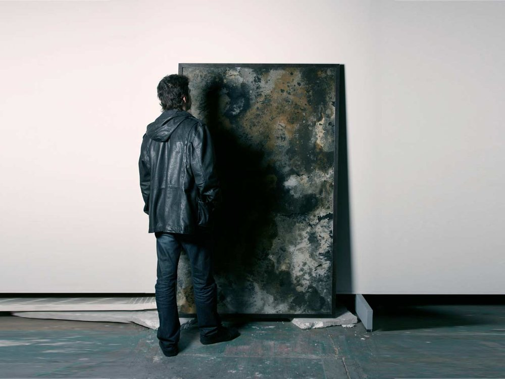 Framed   ash  . As fire destroys, the new will reappear from the ashes.HildenDiaz, 2010
