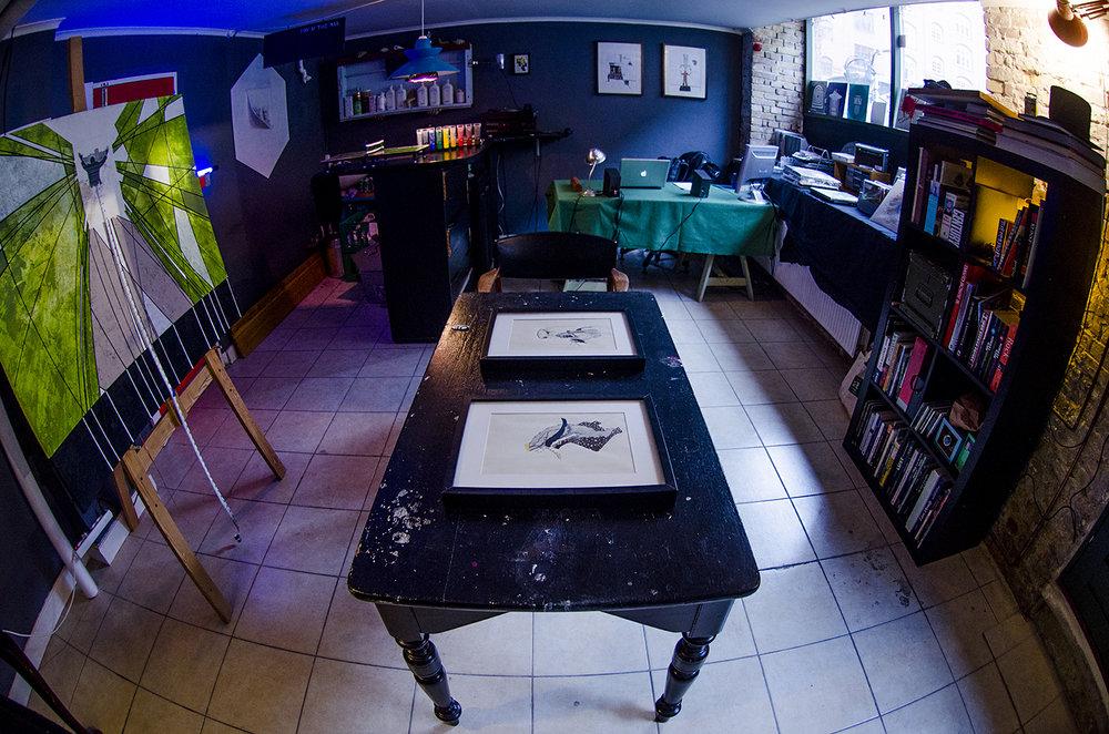 Red Door Studio, Heinesgade 9-11, Nørrebro, Copenhagen 2200