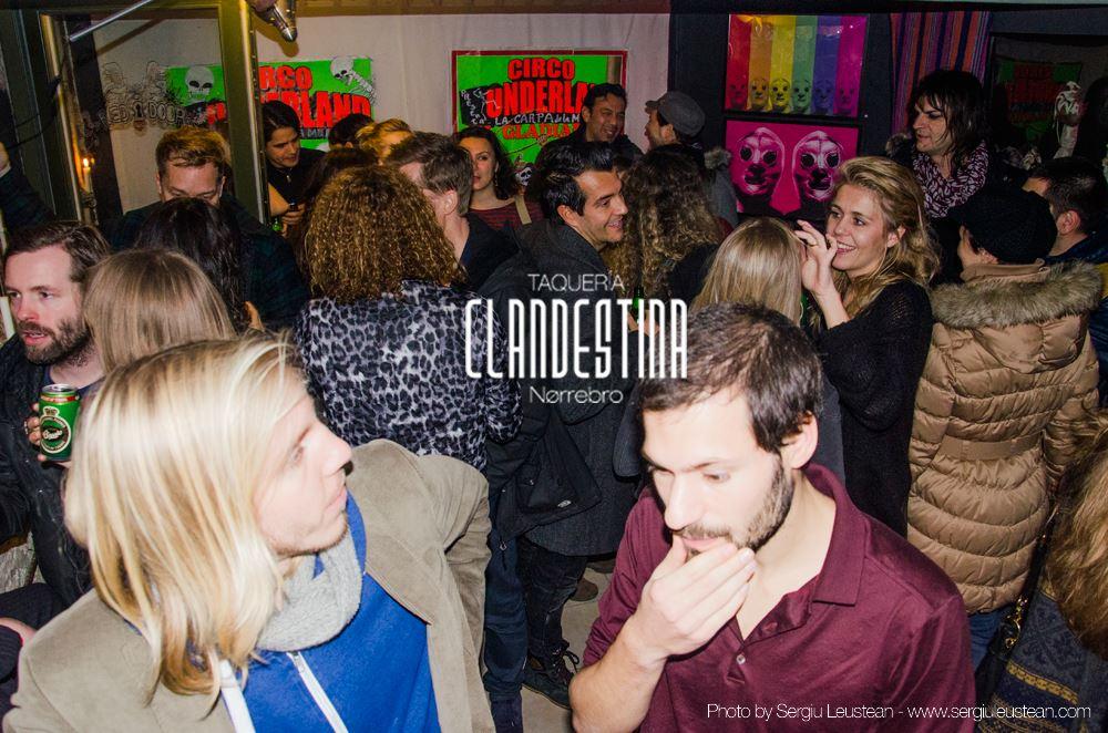 Taqueria Clandestina at Red Door Studio,29th of November 2014 - Friends and visitors