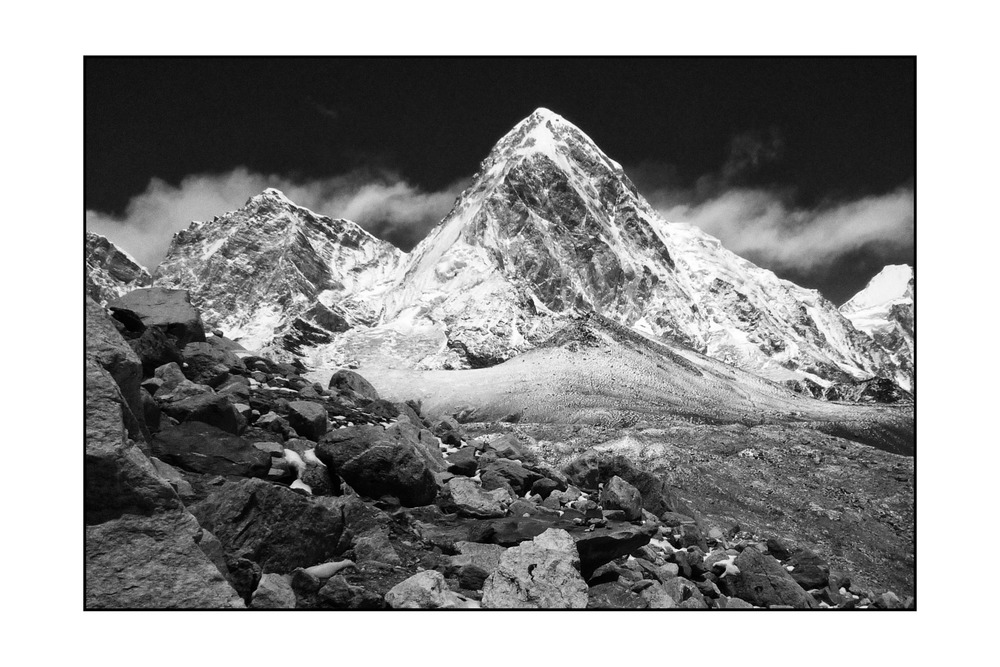 Pumo Ri, Himalaya Mountains, Nepal (2009)