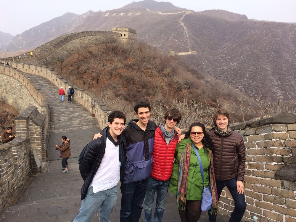 Hiking the Great Wall, you feel like you've risen above the smog and pollution of Beijing.