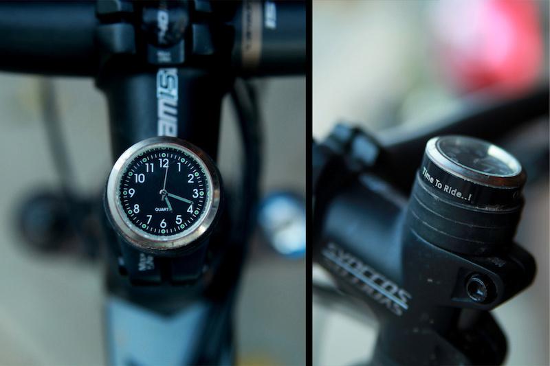 StemCAPtian Enduro32 Clock