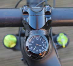 StemCAptain enduro 32 black bezel clock
