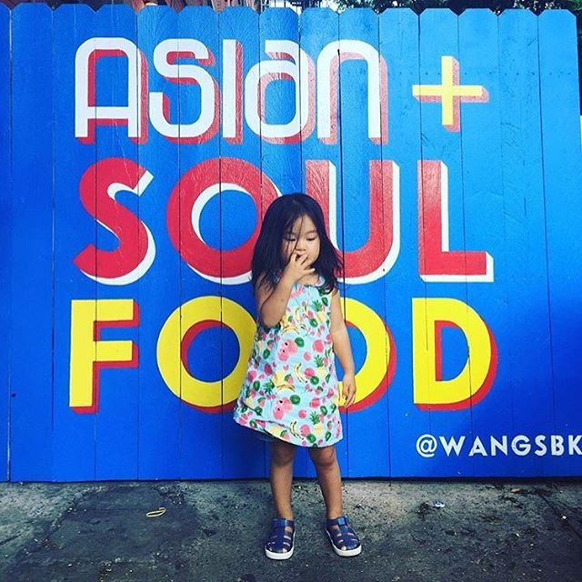 @tomokito1 thank you for stopping by and taking this adorable pic! We just had to share! 😍#toocute #wangs #soulfood #friedchicken #eastmeetssouth #wings #repost