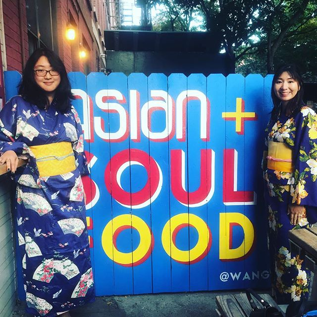 Then there were (these) two. 👯✌🏼#eastmeetssouth  #wings #wangs #friedchicken #asianandsoulfood  #southernfried #culturalmeltingpot #lovenyc #brooklyn #peopleatwangs