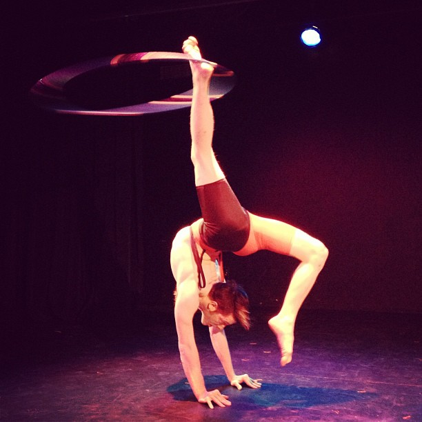 Male Contortion/Hoopist
