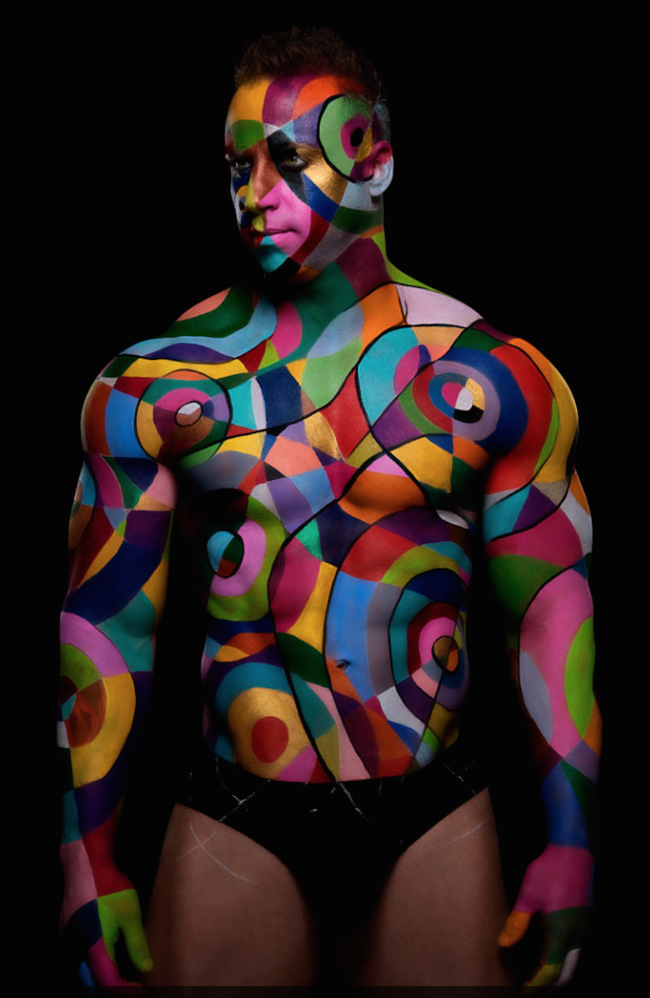 Body Art Abstract Paint