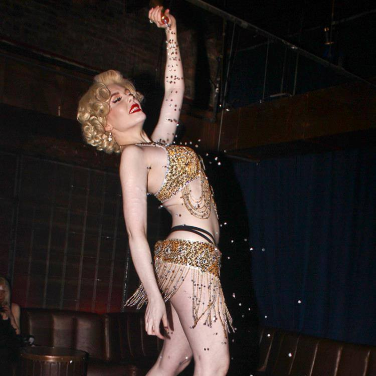 Marilyn Monroe Burlesque Character