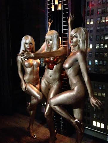 Gold Body Paint Bond Girls