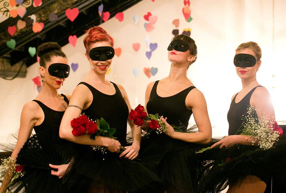 Masked Ballerinas / Photo: Jane Kratochvil