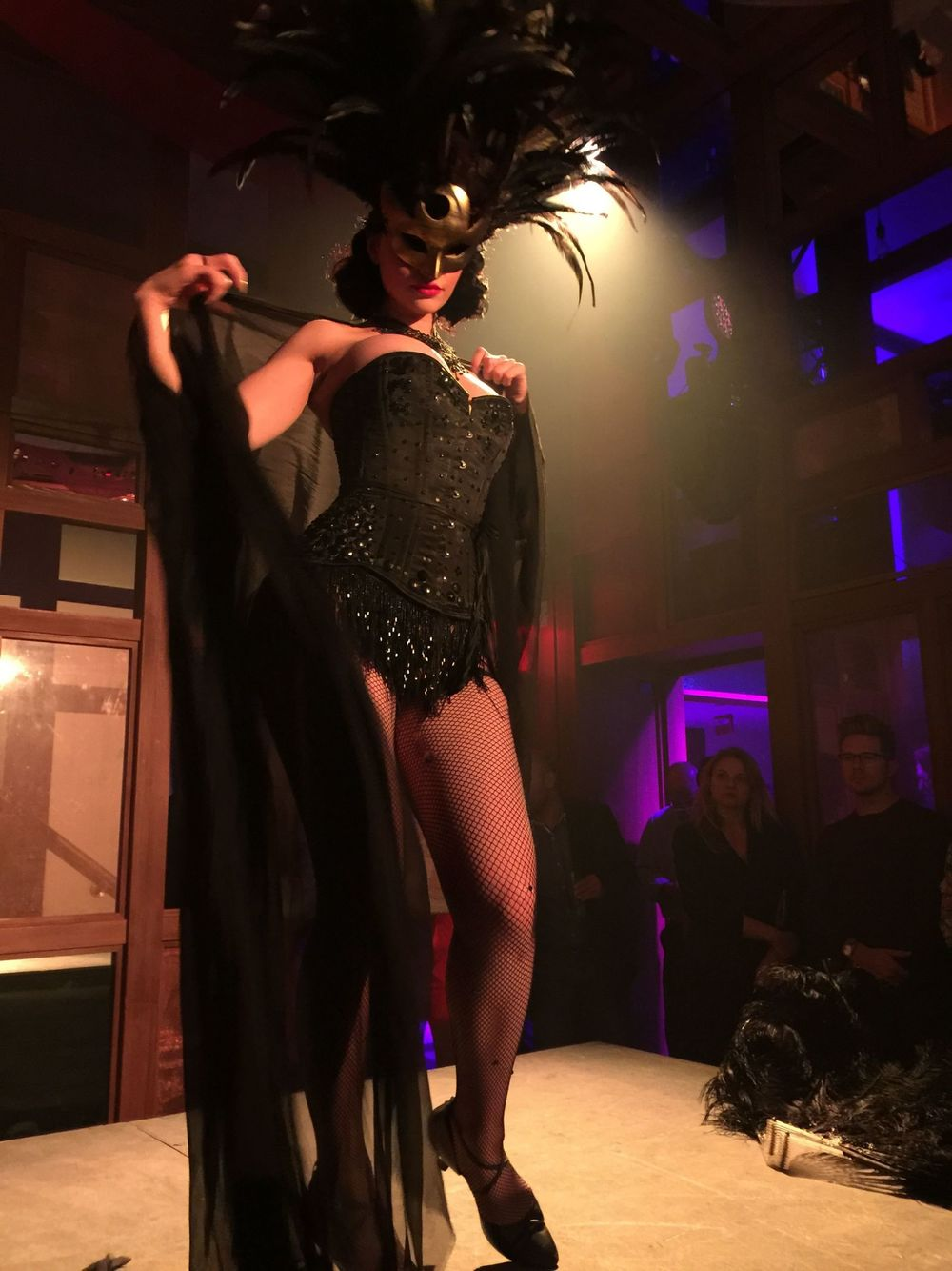 Masked Fetish Dancer